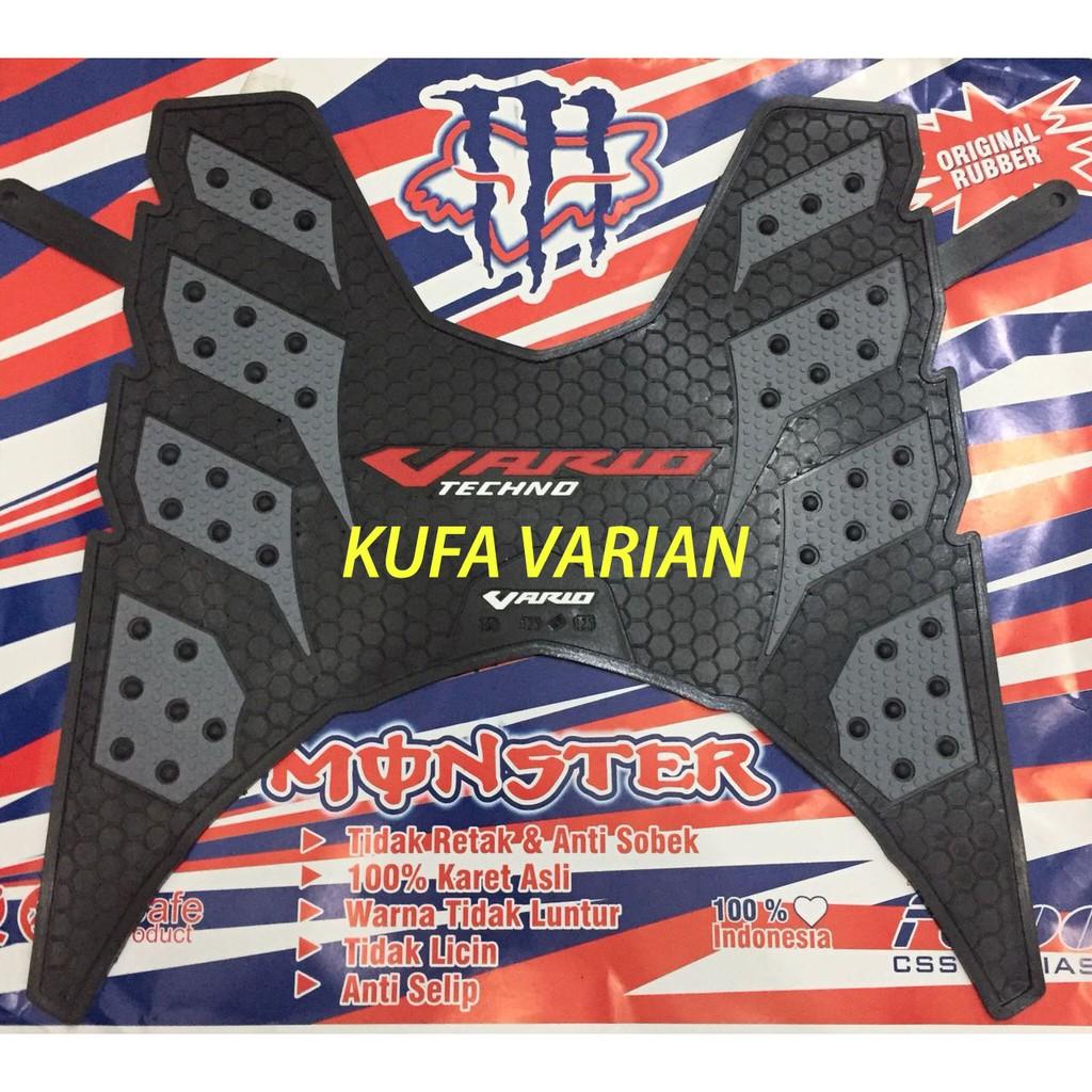 Terlaris KARPET MONSTER VARIO 125 150 ESP SILVER honda alas kaki motor murah Diskon | Shopee Indonesia