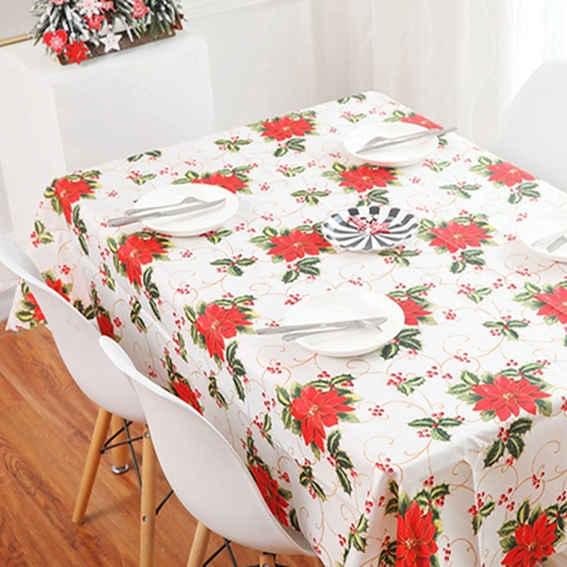 Flocked Damask Floral Table Runner Cloth Home Christmas Wedding Party Desk Decor