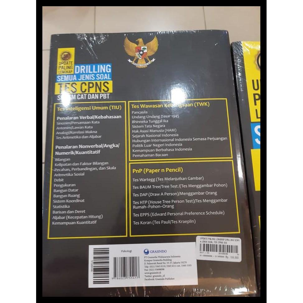 Murah Buku Drilling Semua Jenis Soal Tes Cpns Windyastuti Dkk Qr0845