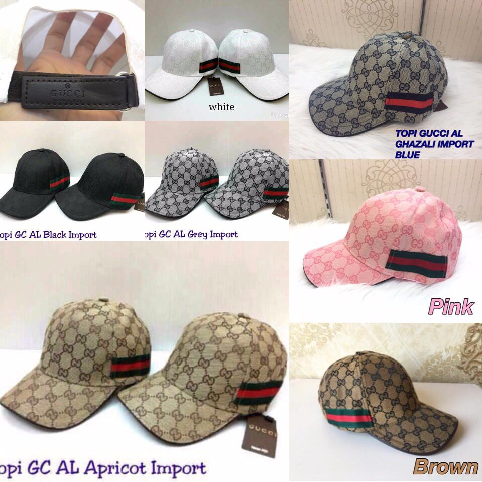 topi gucci - Temukan Harga dan Penawaran Topi Online Terbaik - Aksesoris  Fashion Maret 2019  6ac10861bd