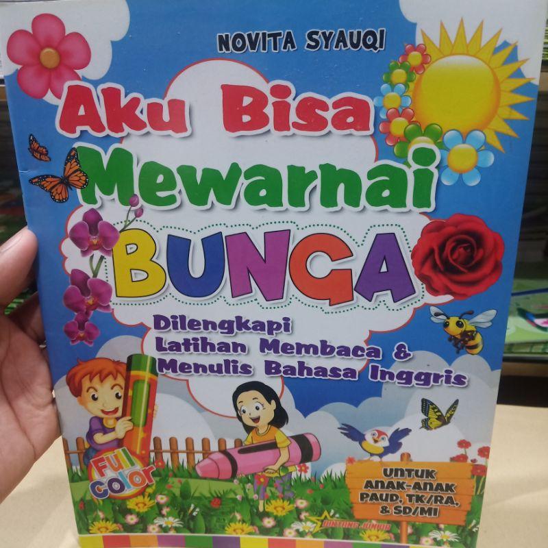 Buku Paud Belajar Mewarnai Bunga Shopee Indonesia