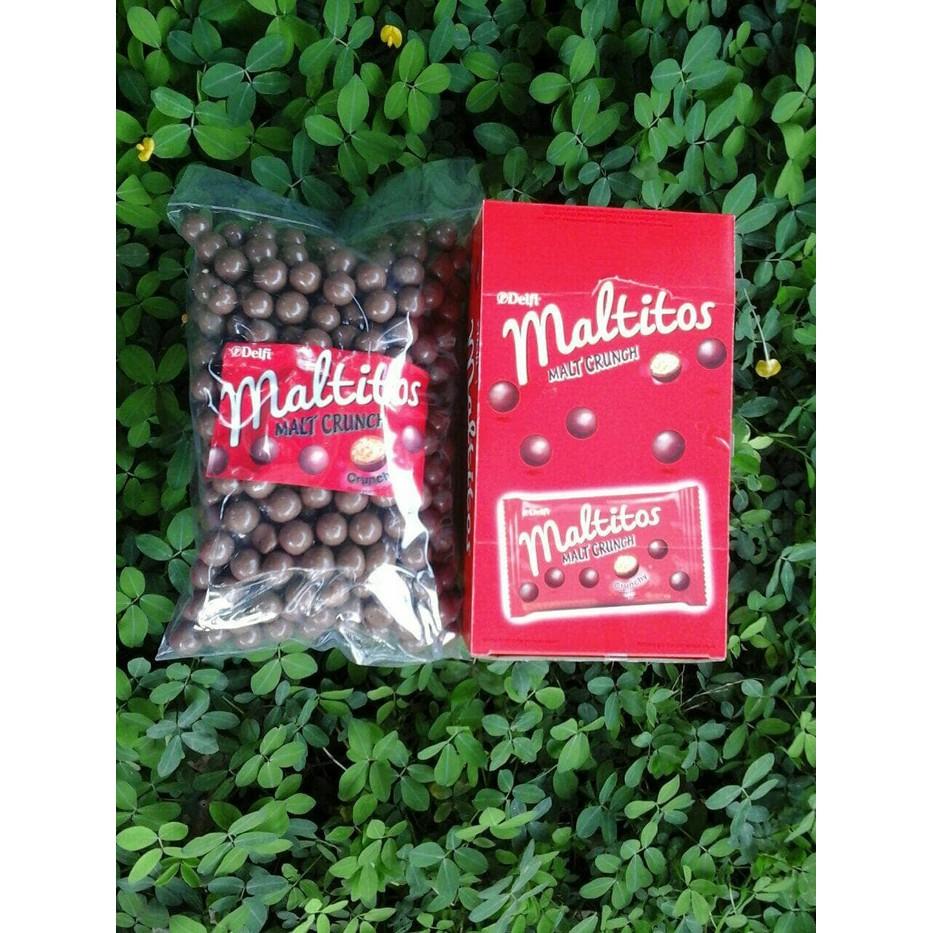 Kiozorenz Delfi Maltitos Coklat Malt Crunch Grosir Cokelat Kue Paket Lebaran Merk Bintang Lima Karton Besar Murah Distributor Shopee Indonesia
