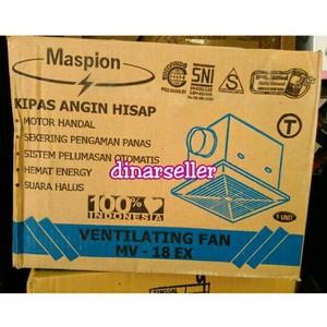 MASPION WALL FAN MWF 31K / KIPAS ANGIN DINDING 21 INCH | Shopee Indonesia