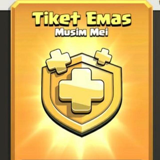 Tiket Emas Game Coc