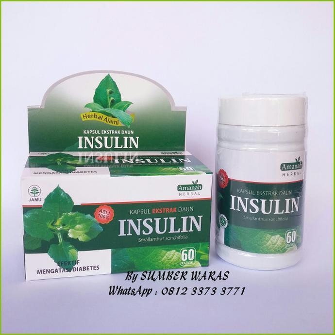 Kapsul Ekstrak Murni Daun Insulin Insulfit Obat Diabetes | Shopee Indonesia