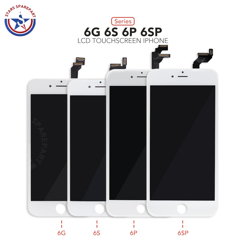 Iphone 6 6g 6s 6 Plus 6 6s Plus 6s Lcd Touchscreen Ori Shopee Indonesia