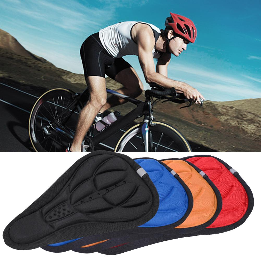 Ultralight 3D MTB Mountain Bicycle Road Bike Breathable Soft Seat Saddle Cover