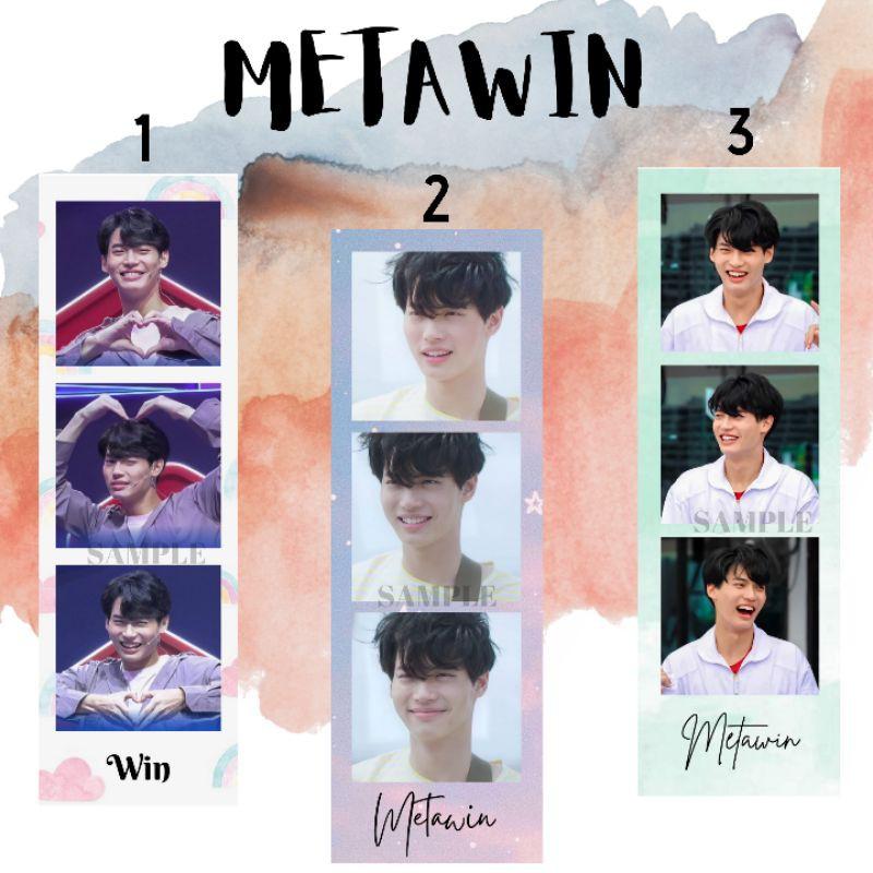 Win Metawin PHOTOSTRIP ( 2gether/ Still2gether/ Sarawat / Tine)