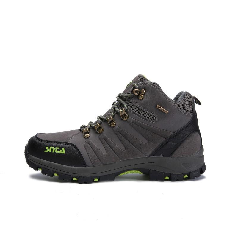 Sepatu SNTA 606 Beige TAHAN AIR Boot Cewek Adventure/Hiking/Trekking/Outdoor Boots