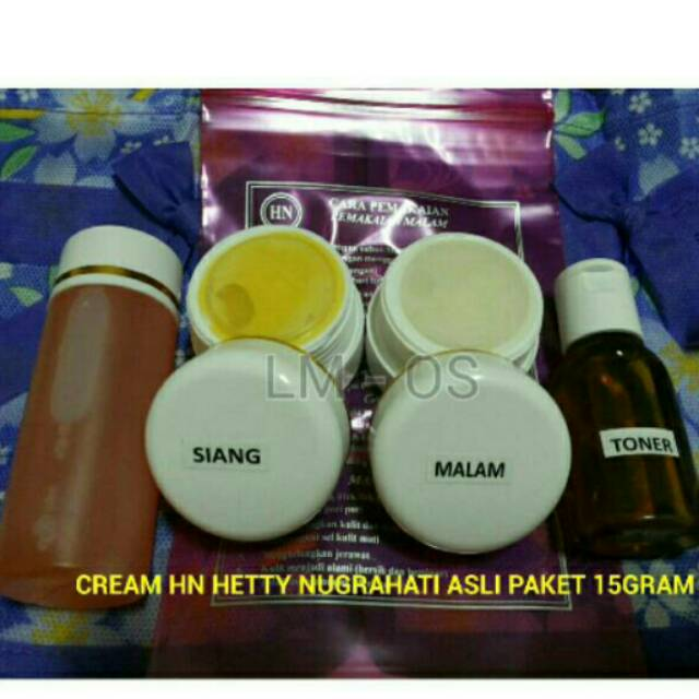 Cream HN ORI Hetty Nugrahati (1 PAKET) | Shopee Indonesia