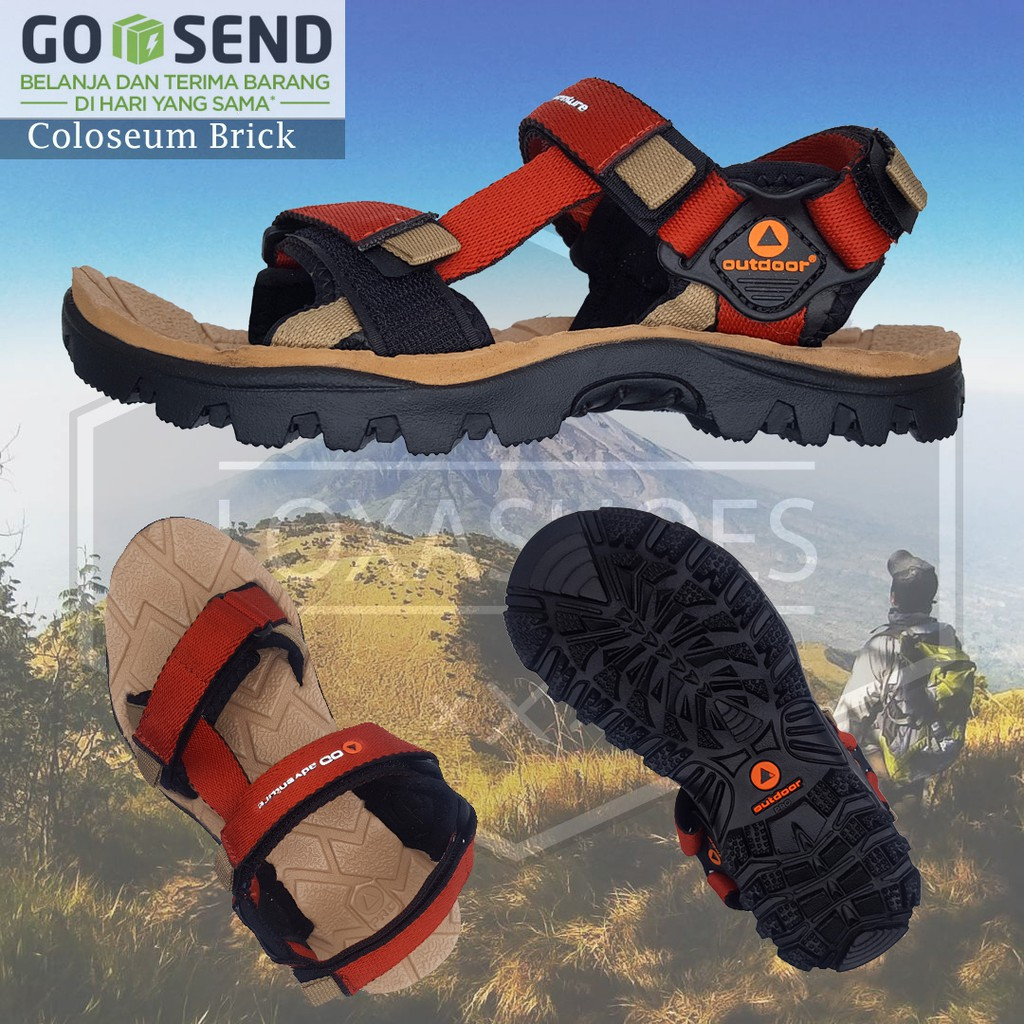 ae4829723458 New Sandals Sandal Gunung Tracking Outdoor Misty Pria Ukuran Besar Jumbo  Big Size Best