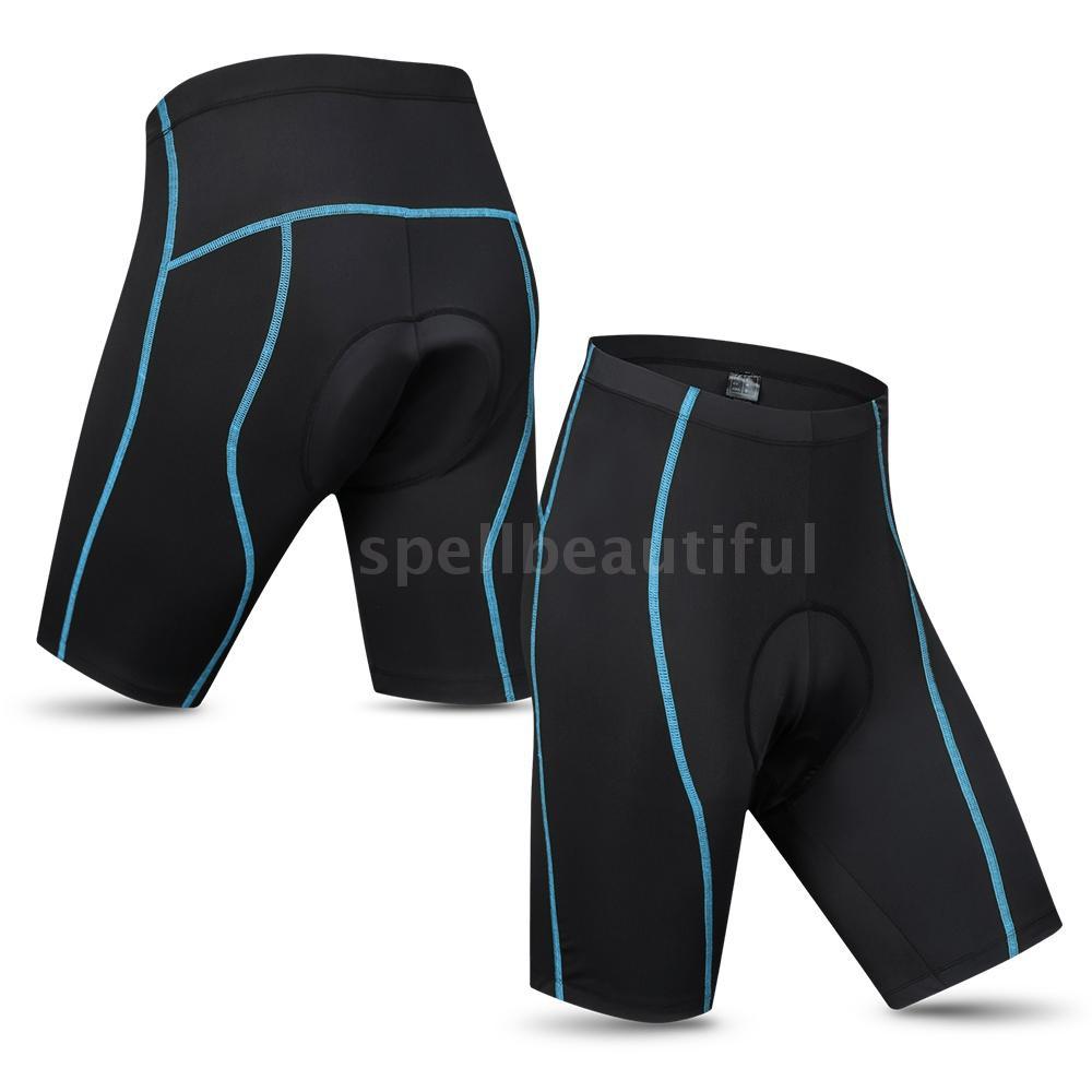 Trousers Cycle Shorts Tights Leggings ANTI-BAC PADDED Mens Cycling Tights