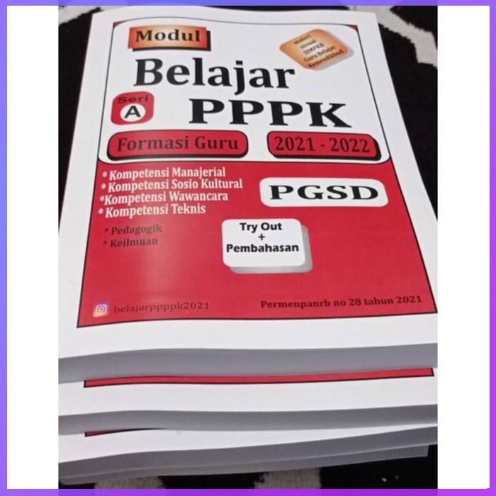 Buku CPNS PGSD Lengkap Modul PPPK Guru SD PGSD 2021 BelajarPPPK ASN Buku CPNS 2021 Terlaris Original