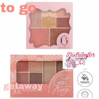 Madame Gie Madame To Go - Face Pallete/ Madame Gie Getaway Make Up Kit / Madame gie Palette