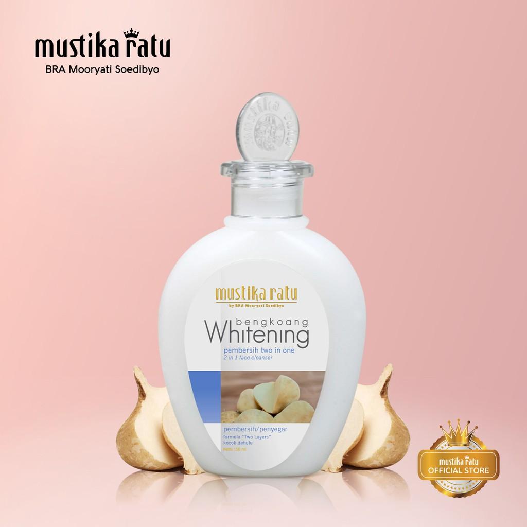 Mustika Ratu Pembersih 2 in 1 Whitening Bengkoang 150ml | Shopee Indonesia