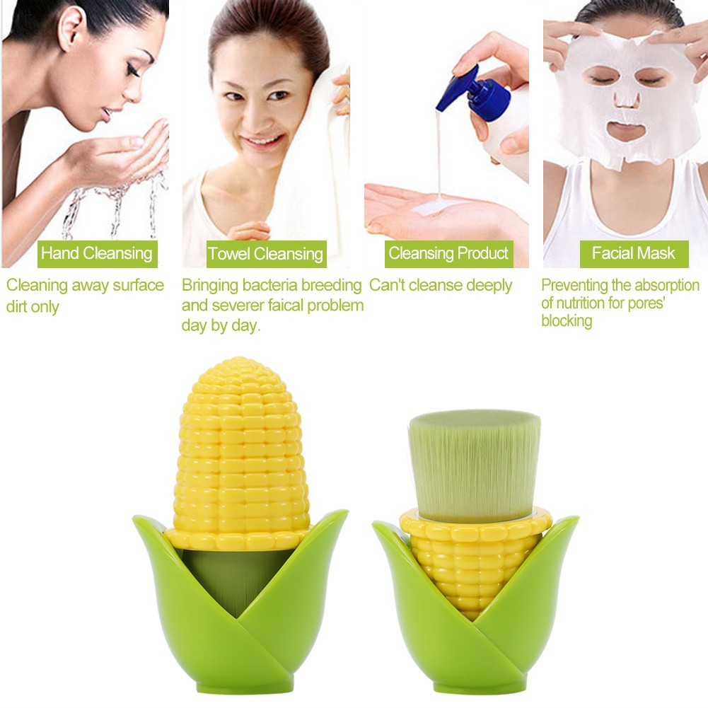 Usupso Deep Cleansing Massage Dual Use Face Brush Shopee Indonesia Concise Lady Home Sliper Sandal Slop Tosca