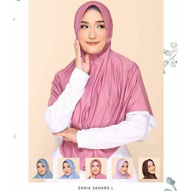 Jual Murah Elzatta Bergo Elzatta Bergo Zaria Sahara L Elzatta Hijab Shopee Indonesia