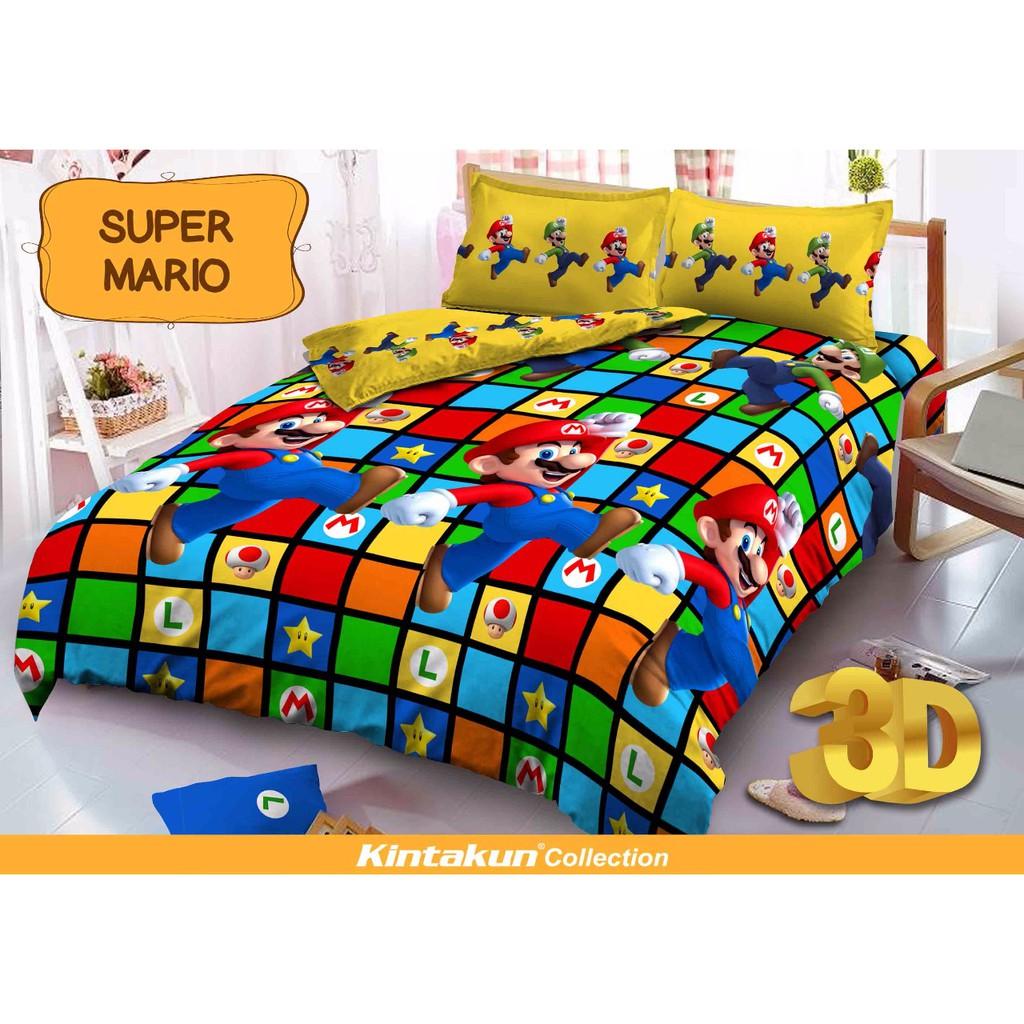 Home Living Kintakun Daftar Harga November 2018 Luxury Sprei 180x200 B2 King The Royals Bed Cover Santika Deluxe Dluxe Super Mario