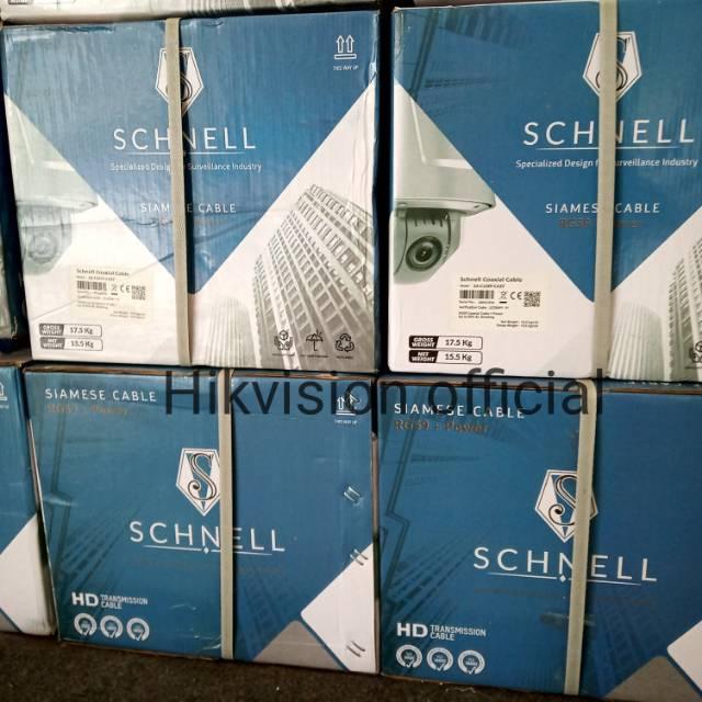 KABEL CCTV SCHNELL RG59 + POWER 1ROLL