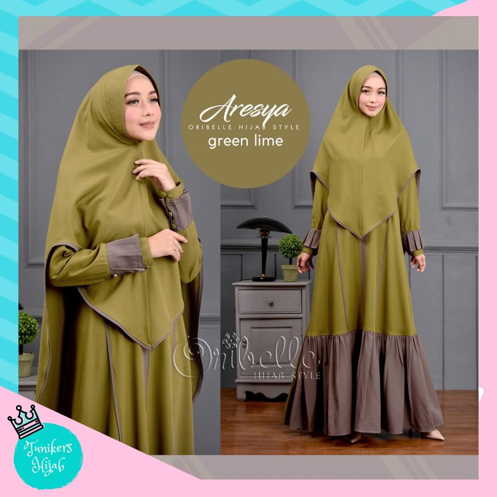 Baju setelan wanita hijab   pakaian muslim murah Amanda set  98dfc0e075