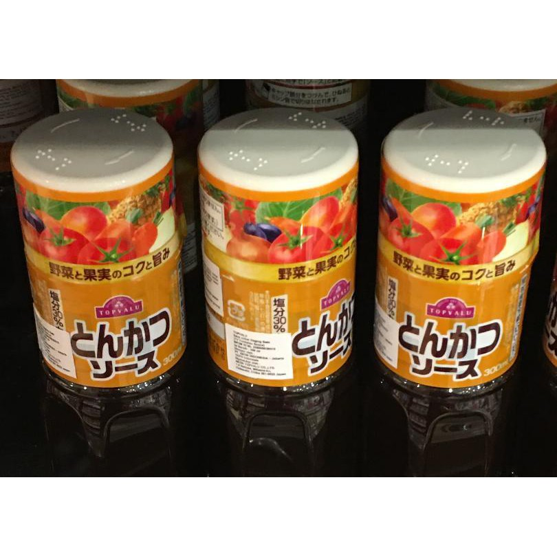 Tonkatsu Sauce Saus Tonkatsu Saus Impor Original Japan 300 Ml Shopee Indonesia