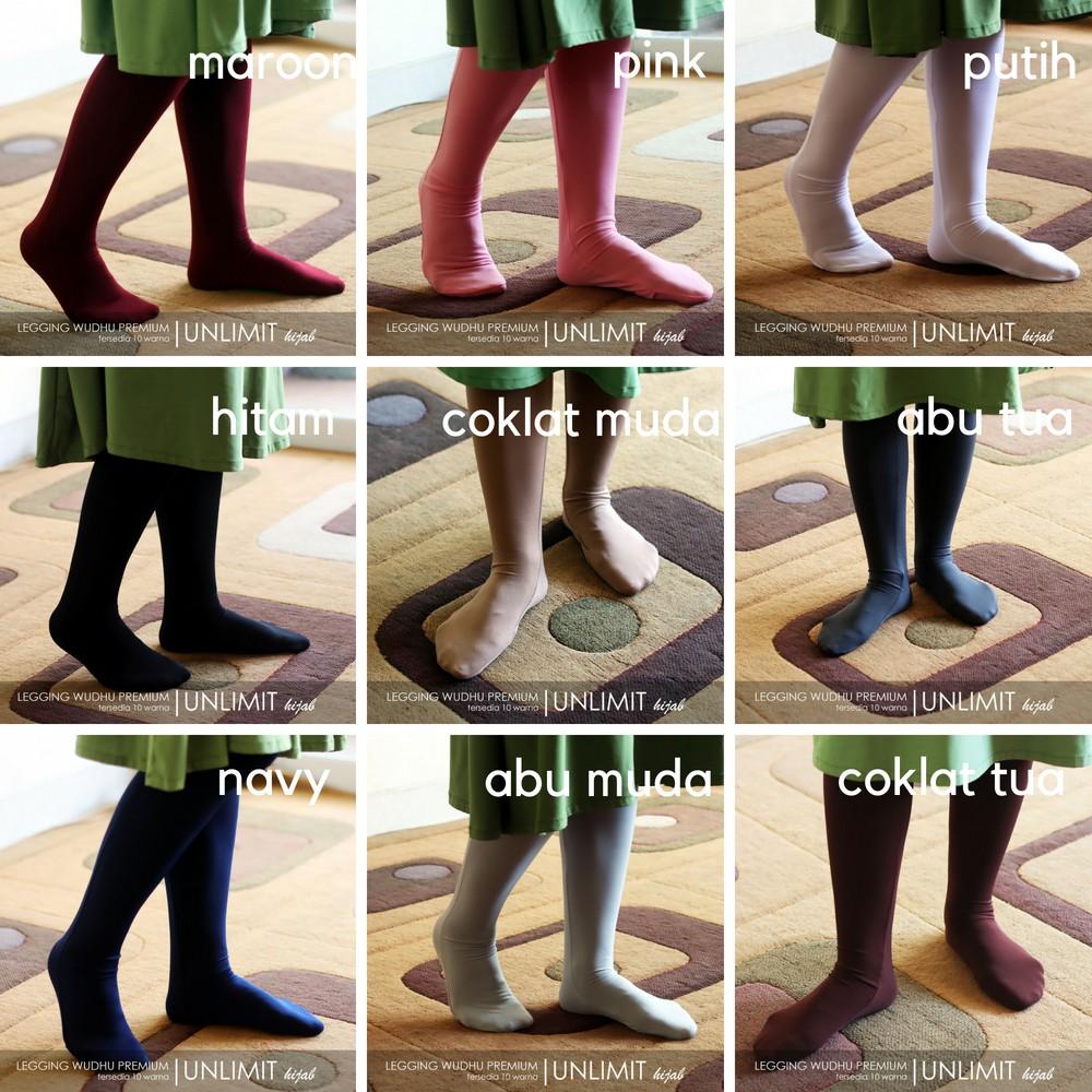Legging Wudhu Original By Unlimit Hijab Leging Wudhu Muslimah Bahan Premium Premium Shopee Indonesia