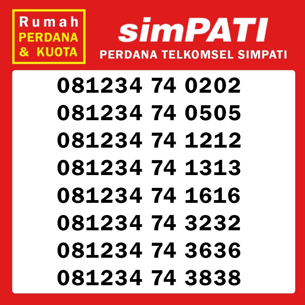 Perdana Nomor Cantik Telkomsel Simpati 4G kwartet 0000 / puluh ribu 0821 4 10000 89 /