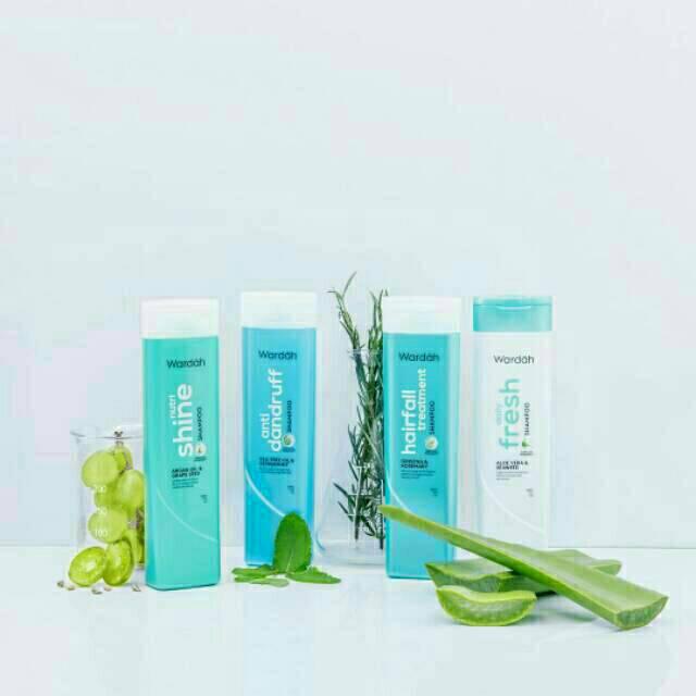 New!!! Wardah Shampoo 170ml-1