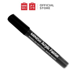 MINISO Washable thick rod single head water-based rocking pen/ Spidol Kaca