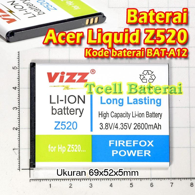 Baterai Acer Liquid Z520 Vizz