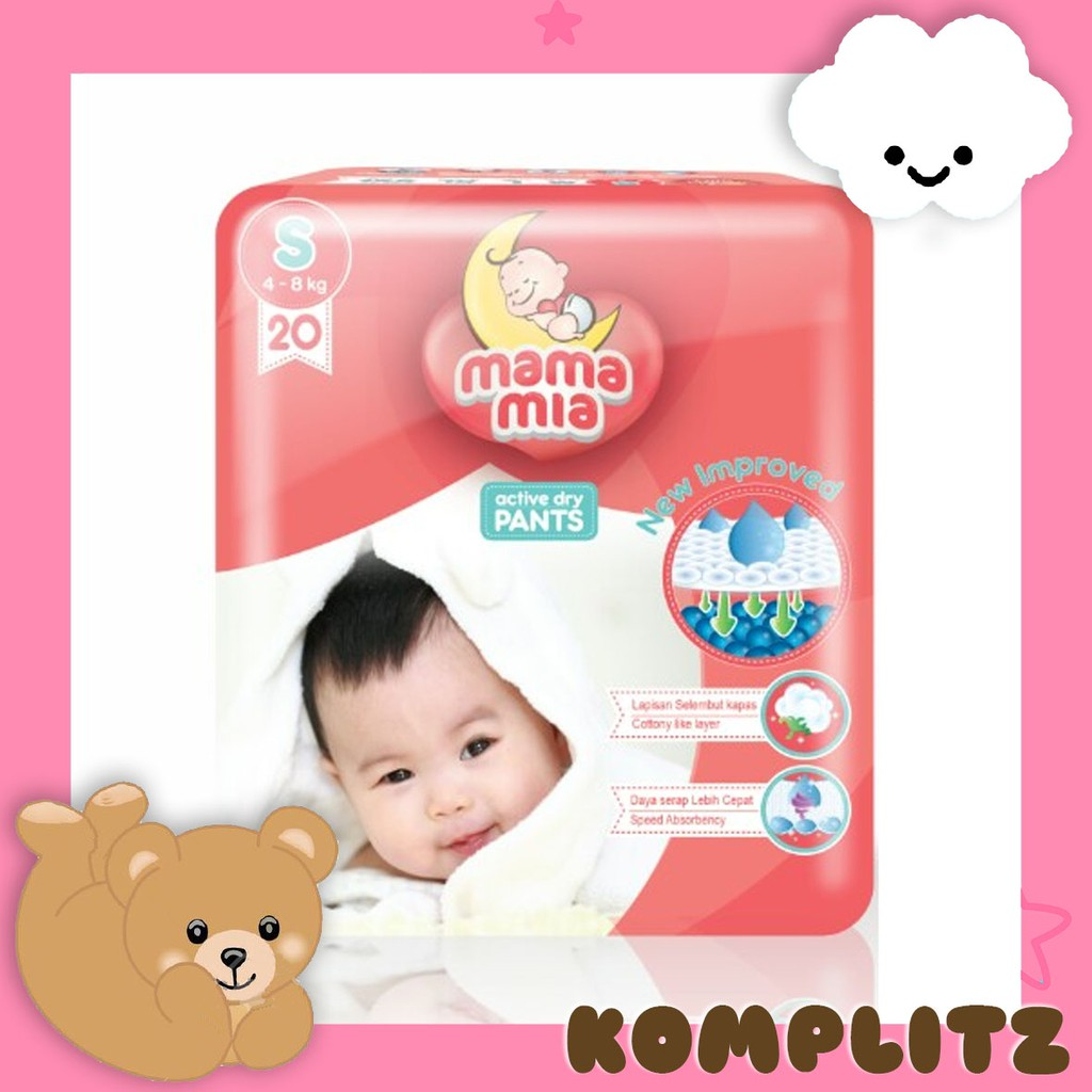 Mamypoko Pants Extrasoft Mamy Poko Extra Soft Tipe Celana Shopee Standard S40 M34 L30 Paket Isi 2 Indonesia