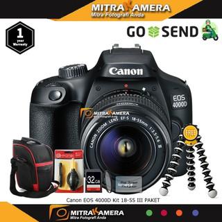 Canon EOS 4000D Kit 18-55 III PAKET