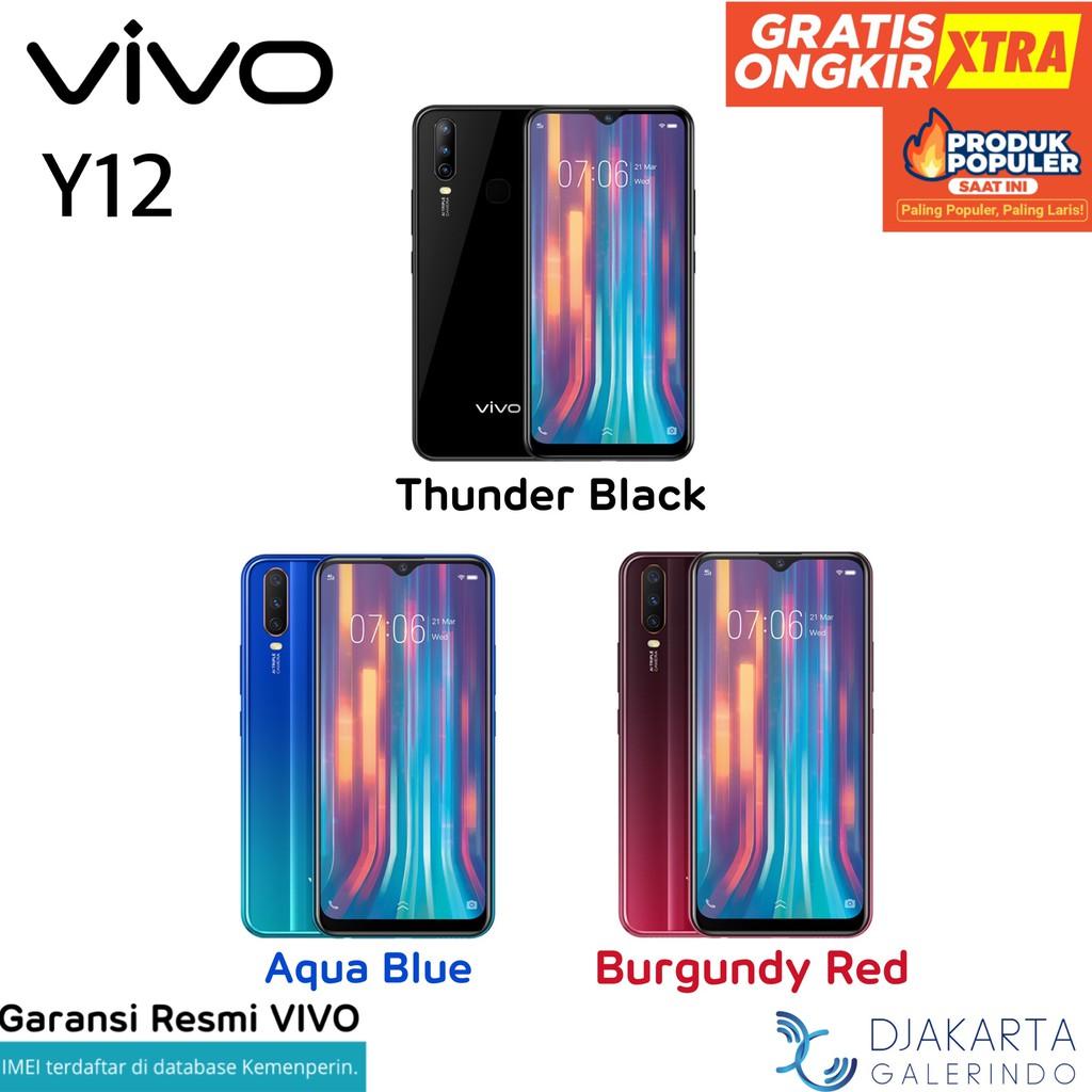 Vivo Y12 3/64 GB - Garansi Resmi Vivo Indonesia ✅