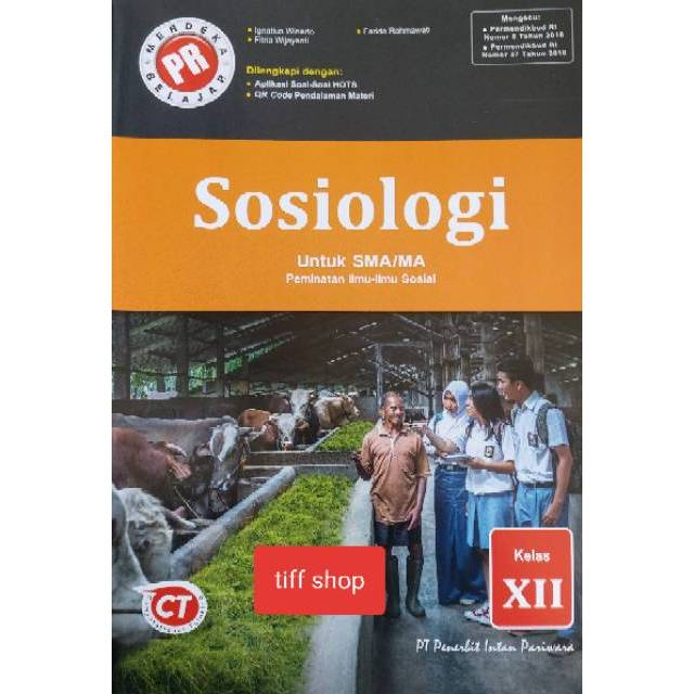 Buku Pr Lks Sosiologi Kelas Xii K13 Revisi Shopee Indonesia