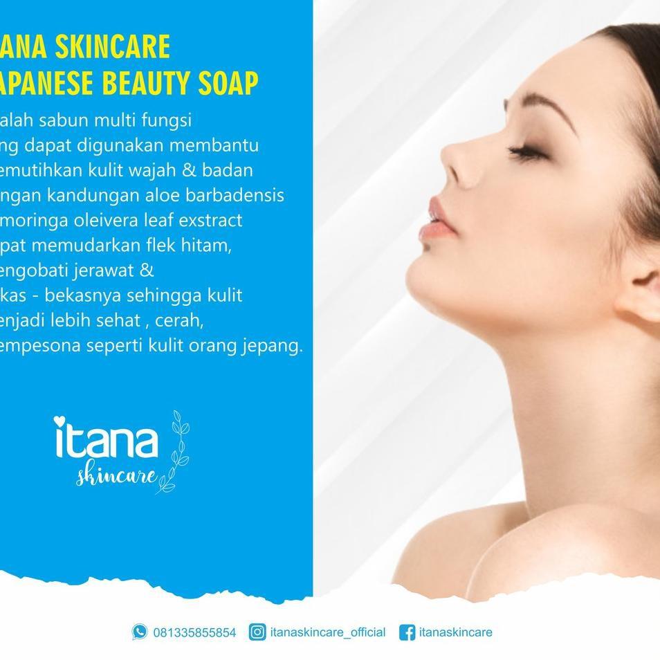 10.10 BRANDS FESTIVAL Sabun Itana Skincare / Glowry pemutih wajah & badan BPOM grosir
