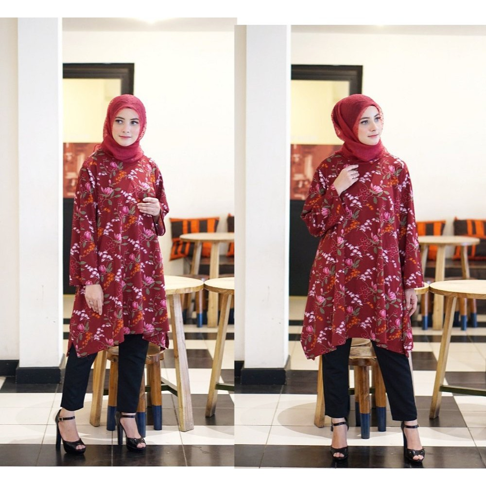 Baju Murah Dress Atasan Muslim Gamis Tunik Temukan Harga Dan Wanita Cewek Hijaber Maxy Maxi Long Veana Limited Penawaran Online Terbaik September 2018 Shopee Indonesia
