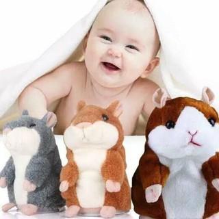 Bestseller Toy Boneka Hamster Bisa Bicara Talking Hamster Mainan Anak Bayi Dan Bisa Buat Kado