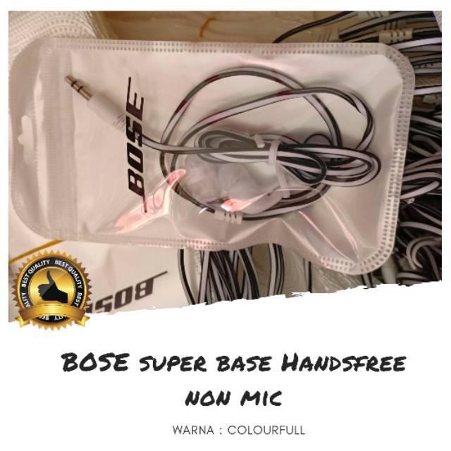 BOSE/JBL HANDSFREE SUPERBASS NON MIC PACK PLASTIK