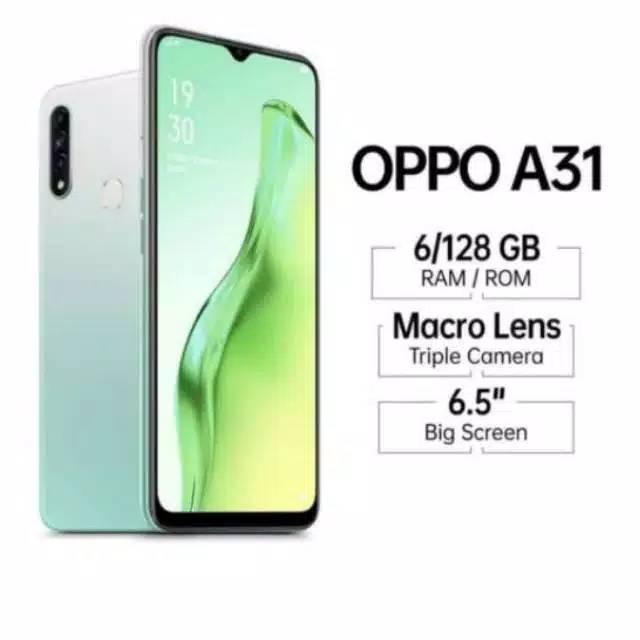 OPPO A31 -ram 6gb/128gb