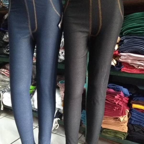 Dijamin Miring Harga Celana Legging Levis Panjang Wanita Bahan Denim Tebal Dan Adem Nyaman Dip Shopee Indonesia