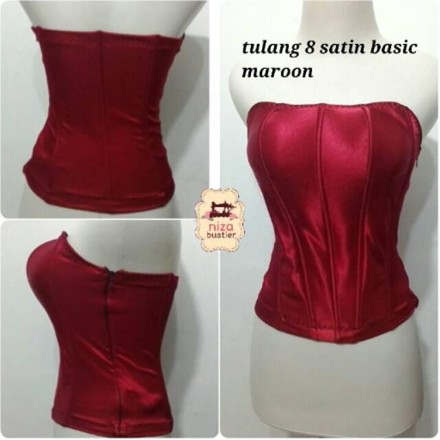 Jual bustier kamisol satin abuthai tulang 8 cup best seller s 0a3aba4359