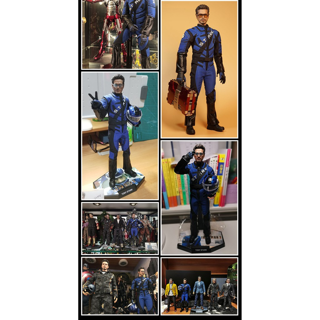 "1//6 Scale Avengers 3 Infinity War Iron Man Tony Stark head Sculpt F 12/"" Figure"