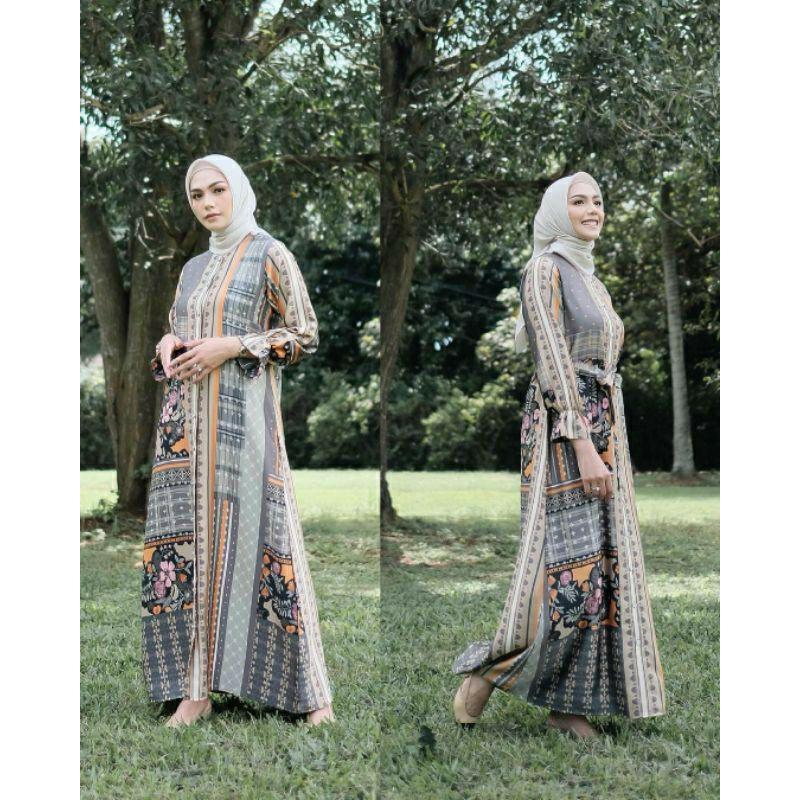 Binar Dress - Nature - Vanilla Hijab