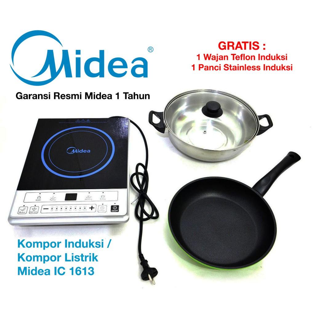 Kompor Induksi TG-1322 Cymba/ Kompor Listrik TG 1322 (Bonus Wajan)   Shopee Indonesia