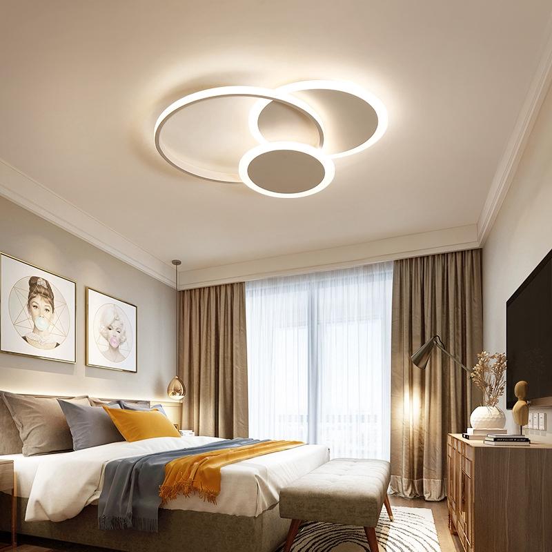 Lampu Plafon Led Desain Nordic Modern Simple Untuk Kamar Tidur Shopee Indonesia