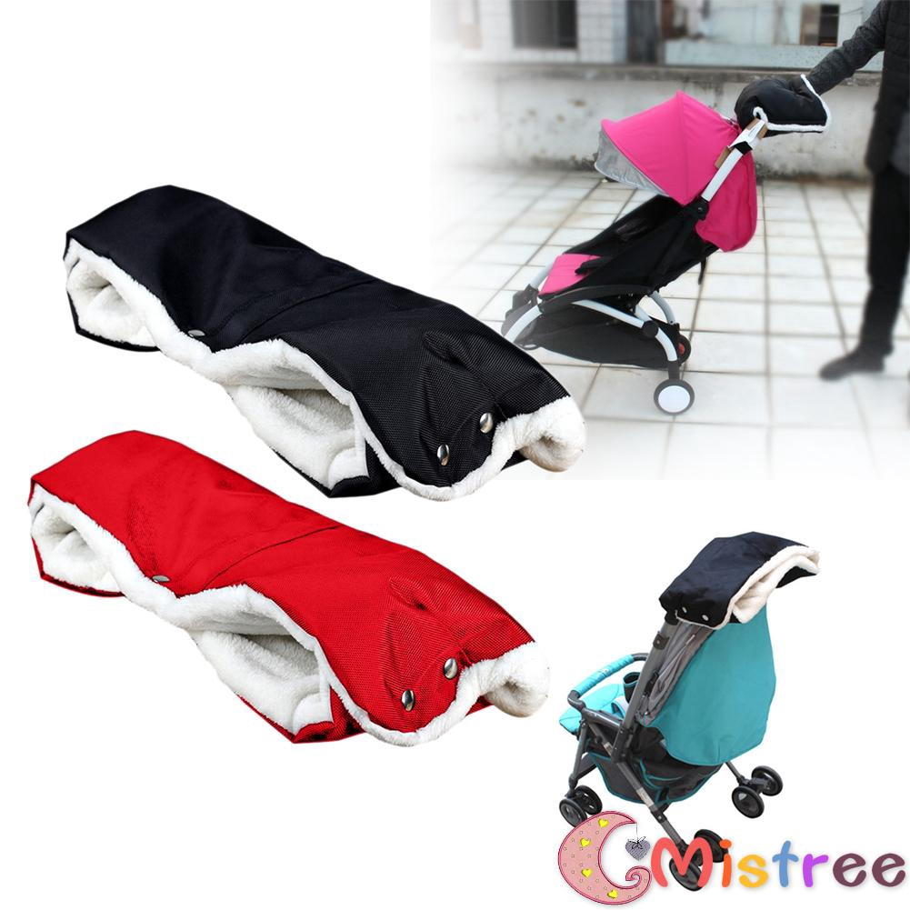 Mummy Mitts Hand Muffs Stroller Pram Pushchair Baby Carriage Warm Gloves Grey