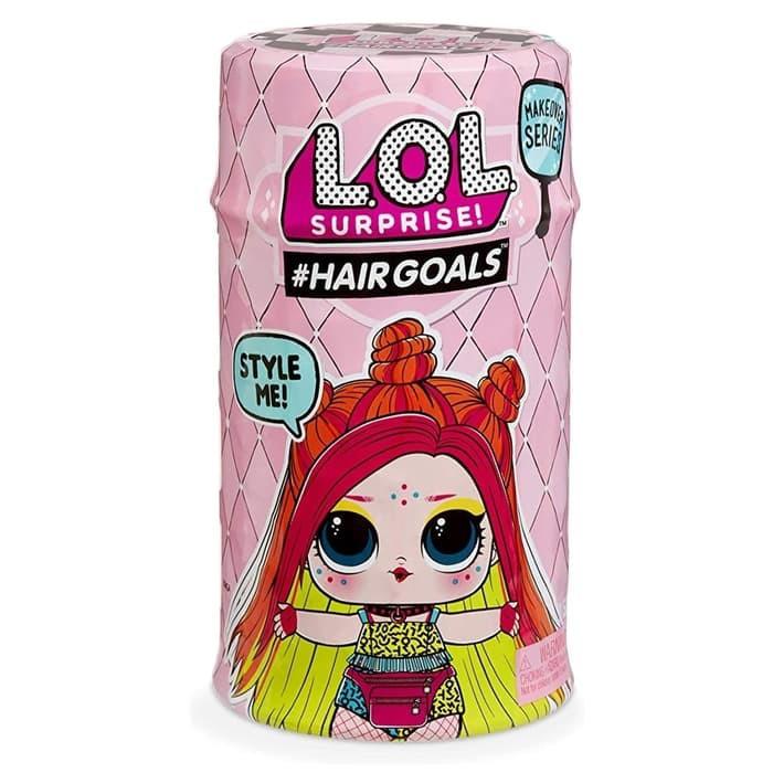 Lol Surprise Hairgoals Hair Goals Wave 2 Original Shopee Indonesia