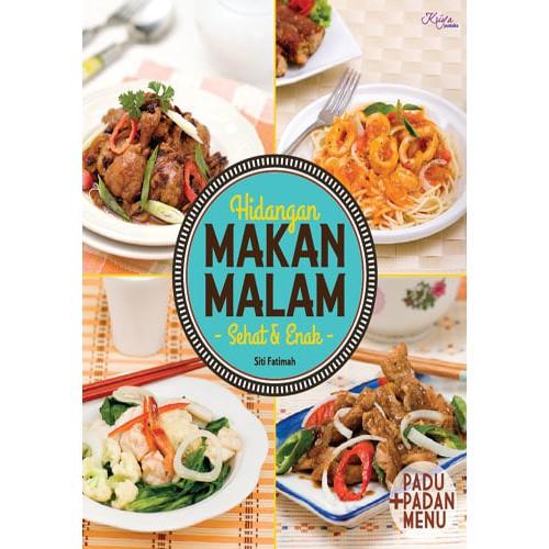 Buku Hidangan Makan Malam Sehat Enak
