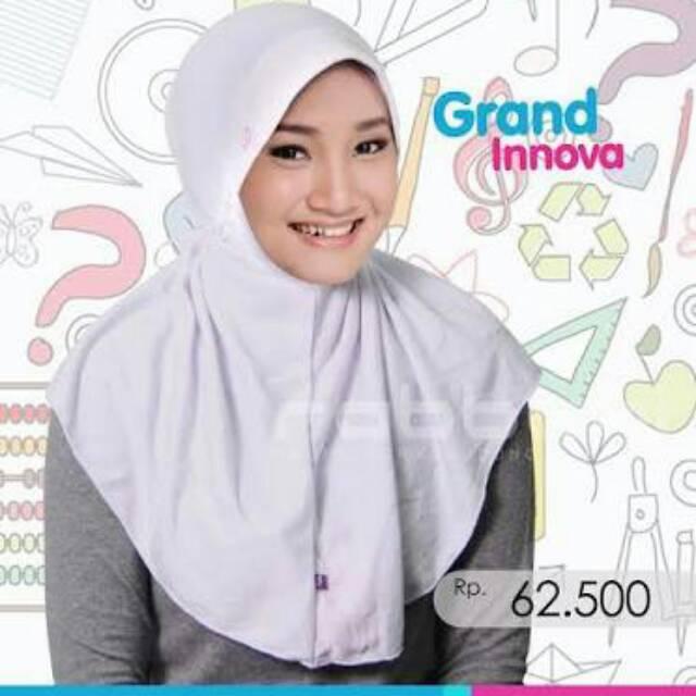 Kerudung Rabbani Grand Innova Putih Ukuran S Shopee Indonesia