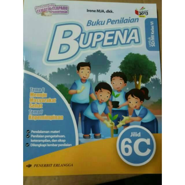 Terbaru Bupena 6c Untuk Kelas 6 Sd Tema 6 7 Edisi Revisi K13n Shopee Indonesia